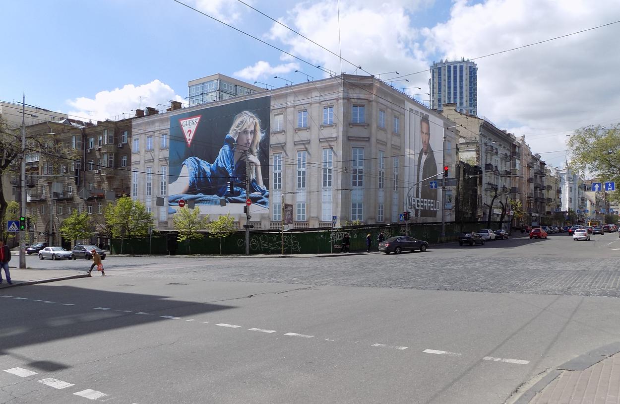 Брандмауер по вул. Велика Васильківська 50/23