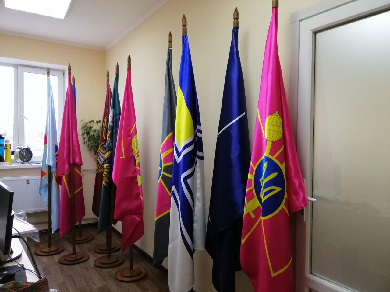 Прапори для Київського воєнного ліцею
