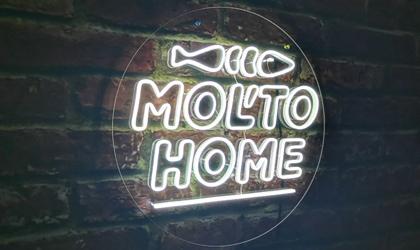 Неоновий логотип Molto Home
